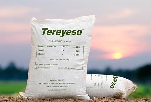 TEREYESO ®<br /> EL YESO AGRICOLA